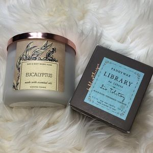 Two NIB Scented Candles